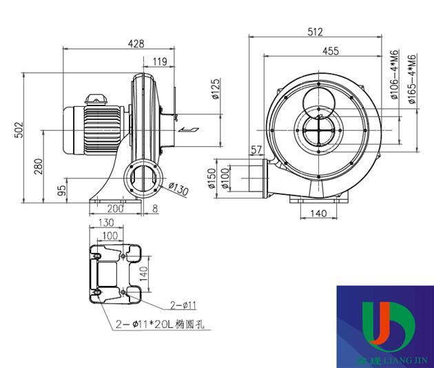 28(kg) 风机压力:中压风机    材质:铝合金    类型:回转式鼓风机