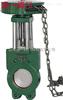 ZL73X-6/10/16链轮式对夹式铸铁浆液阀