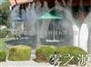 广东中山酒店园林绿化人造雾景观